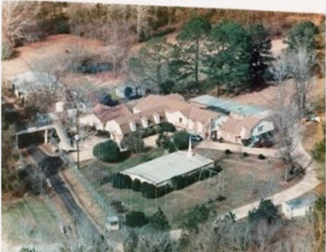 An aerial shot of the New Bethany compound  posted online by a  survivor   of the school under the filename  Hell jpg. Survivor Snapshots from Teen Home Hell   Mother Jones
