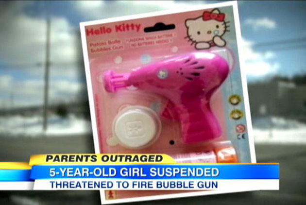 Hello Kitty bubble gun