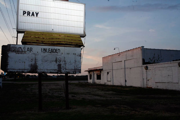 """Most laid-off GM assembly workers are paid severance for two years. """"There's going to be hell to pay when those unemployment checks stop coming,"""" says one resident."""