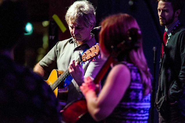 Chris Stamey (with Emily Nelson and Brett Harris) performed at the High Watt. The 13th Americana Music Festival and Conference, September 12-15, 2012, Nashville, TN