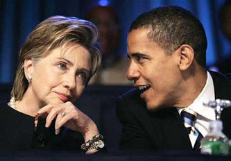 Image result for obama + clinton