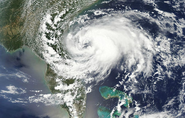 Tropical Storm Beryl, 27 May 2012. NASA
