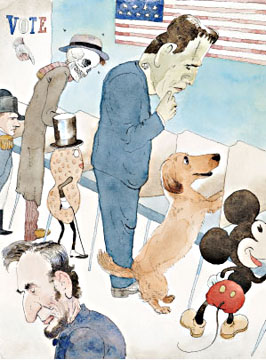 dog voting