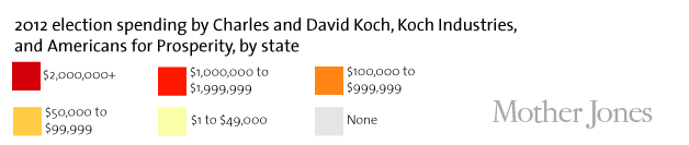 Charts: How Much Have the Kochs Spent on the 2012 Election? – Mother on koch industries corporate structure, koch industries companies, koch industries pipeline locations, koch industries california, koch industries headquarters, koch industries competitors, shaw industries locations map, koch industries careers, koch industries products, koch industries contact,