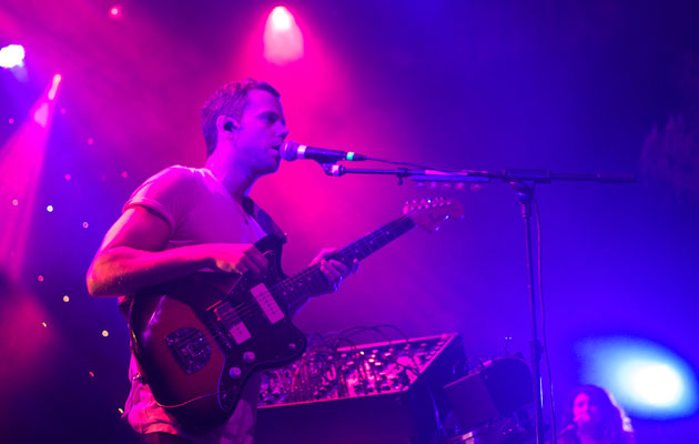 M83 performs at The Fillmore in San Francisco, April 22, 2012.: Photo: Katrina Pagaduan