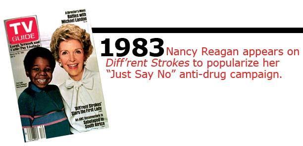 Wonderful Nancy Reagan On Different Strokes