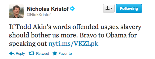 Obama's order applauded by activists like Nicholas Kristof.