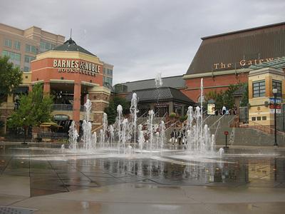 The Olympic Legacy Plaza inside Kem Gardner's massive Salt Lake City Gateway complex. Amy the Nurse/Flickr