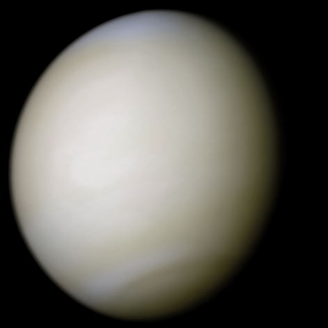 Venus in true color: NASA/Ricardo Nunes