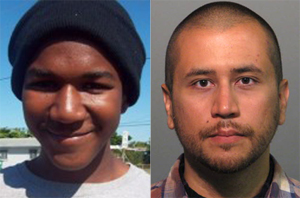 Photos by Jerome Horton (Martin) and Seminole County Sheriff's Office/Zuma Press (Zimmerman)