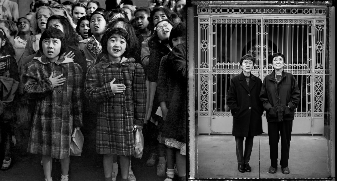 Moving Photographs of Japanese American Internees, Then and