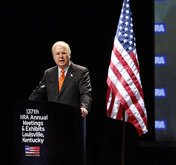karl rove at NRA convention