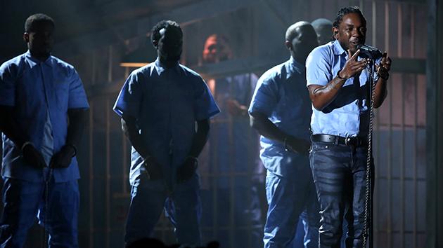 Watch Kendrick Lamar's Incredible Grammy Performance – Mother Jones