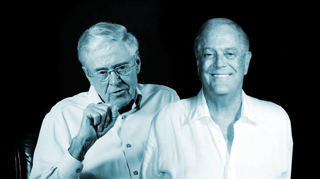 The Koch brothers accidentally left a confidential document at their last donor conference—read it here