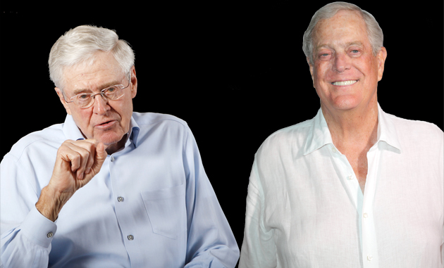 New koch linked political firm aims to handpick electable for David charles koch