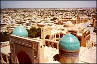 Downtown Bukhara, one-time jewel of the Silk Road