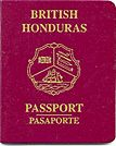 British Honduras passport'