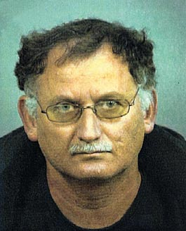 Asher Karni in a Denver Police Department mugshot