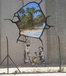 Banksy in the Left Bank
