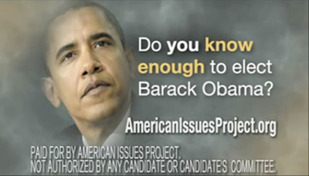 2008 political print ads homework help