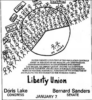 Bernie Liberty Union