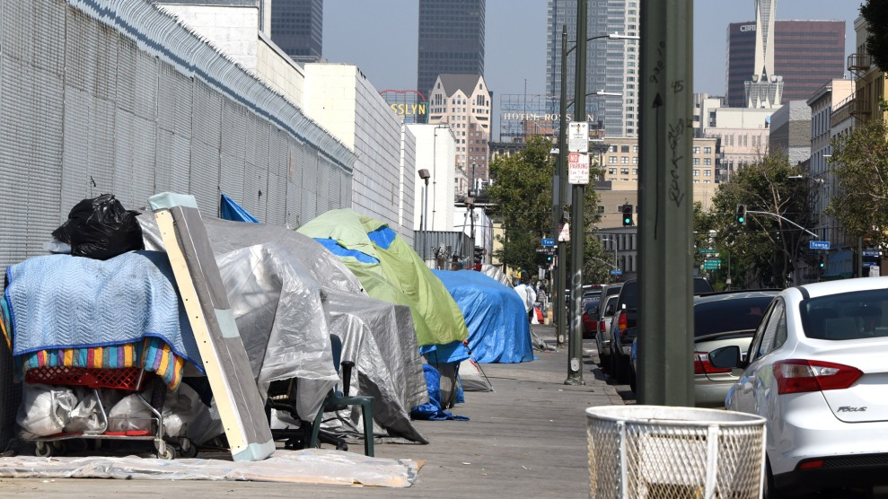 Homelessness in america has declined a bit but in the west for Los angeles homeless shelter