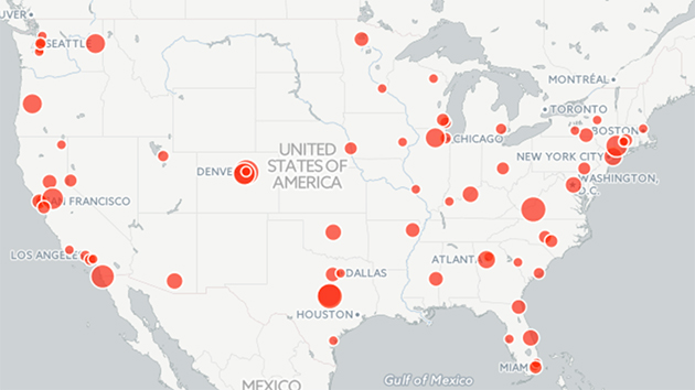 A Guide To Mass Shootings In America Mother Jones - Biggest school shootings mapped out in the us