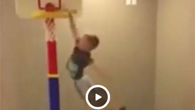 Little Kid Basketball Hoop Vine