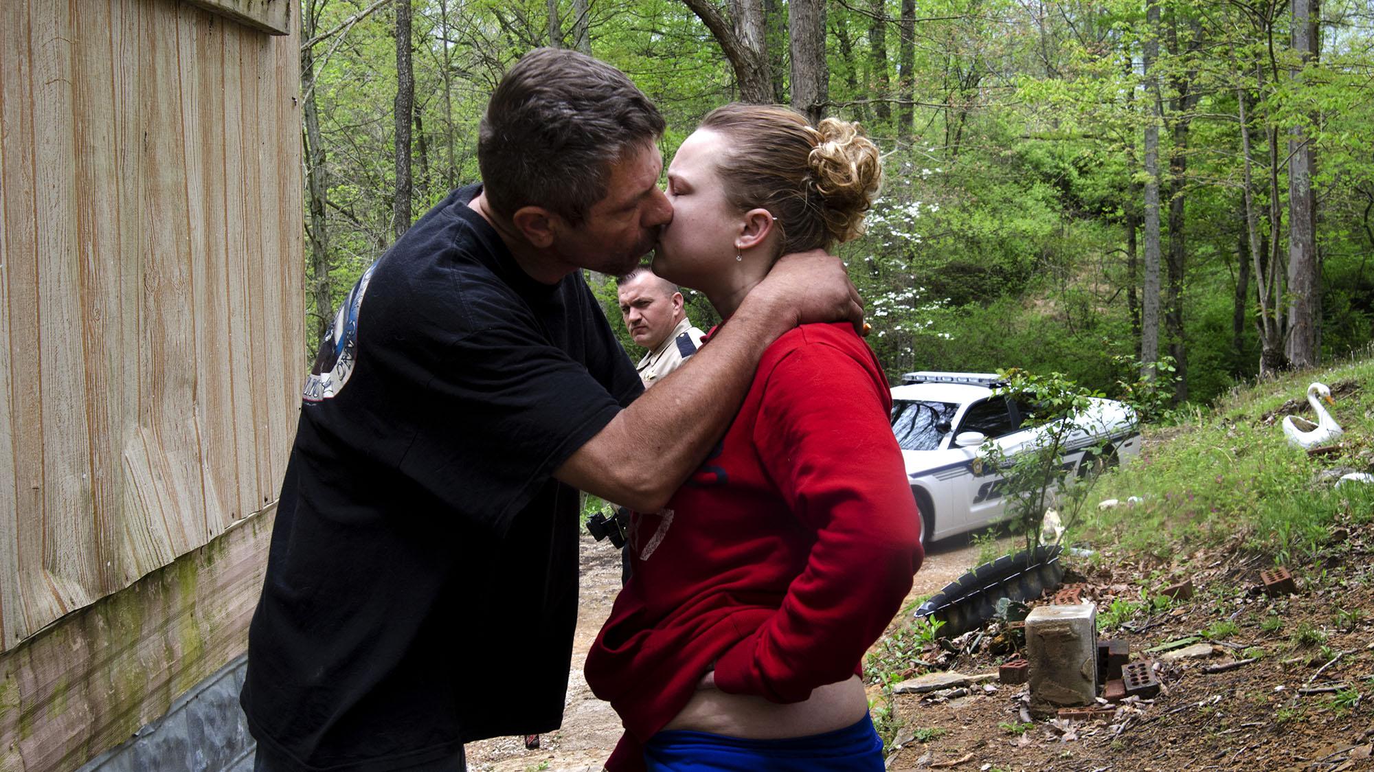 Couple trailer trash earn some meth money