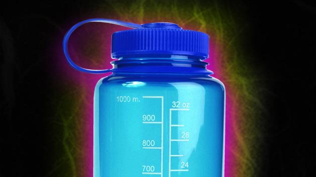 Plastic water bottles estrogen