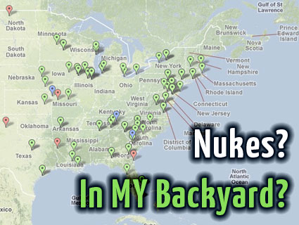 Map The Nuclear Bombs In Your Backyard Mother Jones - Nuclear-map-us