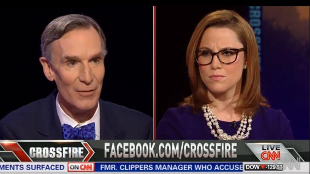"Watch: Bill Nye debates climate change on ""Crossfire"""