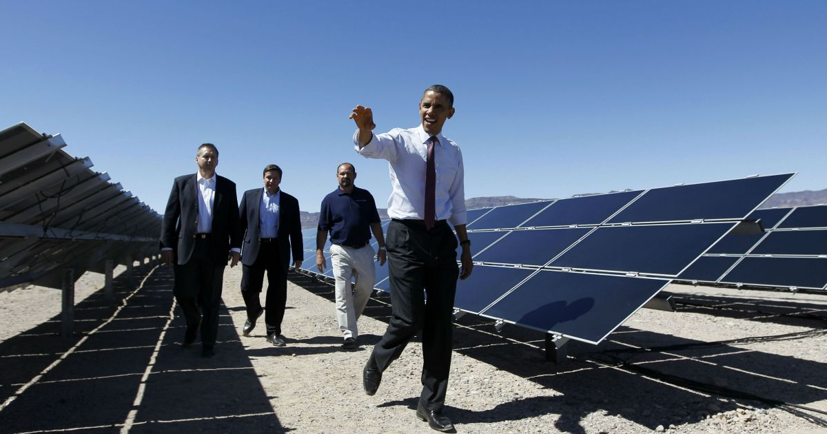 Obama S Climate Legacy Will Be Harder To Undo Than Trump