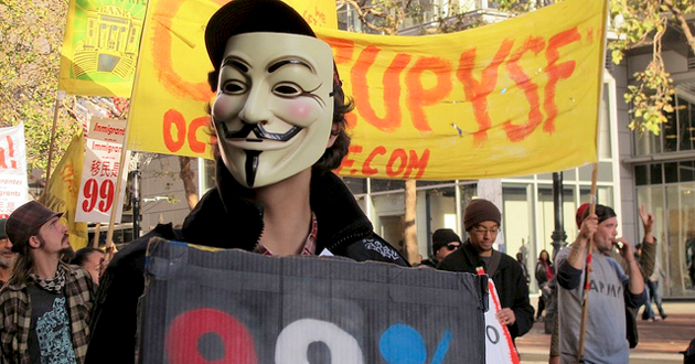What The Occupy Wall Street Crackdown Can Teach Us About NSA - Occupy wall street us map