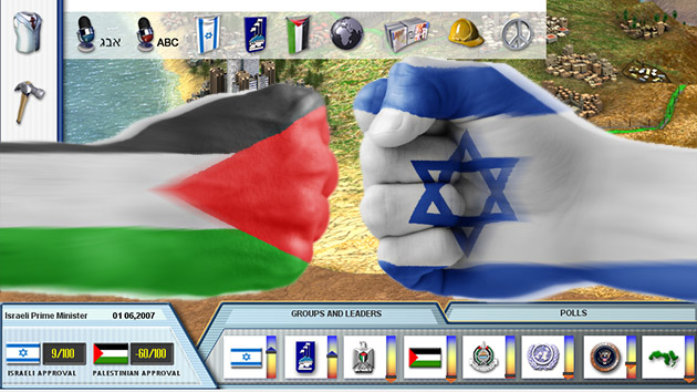 Think you can solve the Israeli-Palestinian conflict? Play this game.