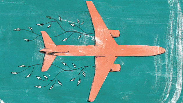 motherjones.com - Tim McDonnell - Why flying home for the holidays might be greener than driving