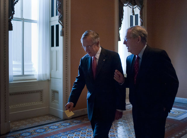 Harry Reid Might Change The Rules Of The Senate Here S What You Need To Know Mother Jones