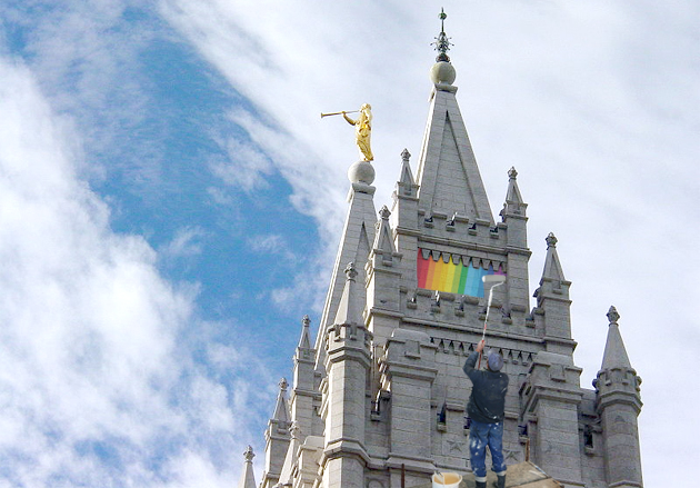 Mormon church gay