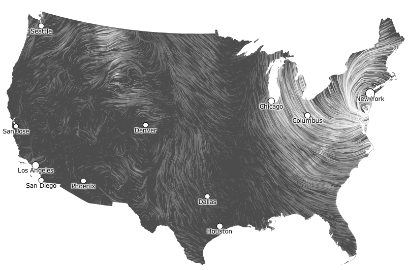 scary beautiful the best hurricane sandy maps