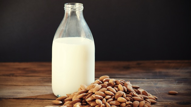 Is almond milk and soy milk the same