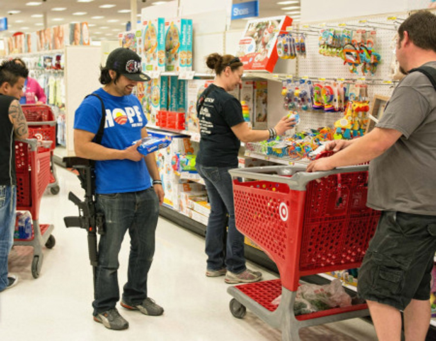 Target Gets Drawn Into Gun Rights Battle – Mother Jones