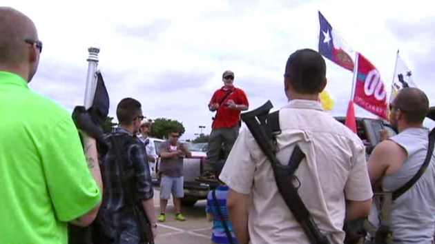 Open-Carry Activists Return to Target With Assault Rifles ...