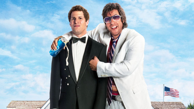adam sandler andy samberg that's my boy poster