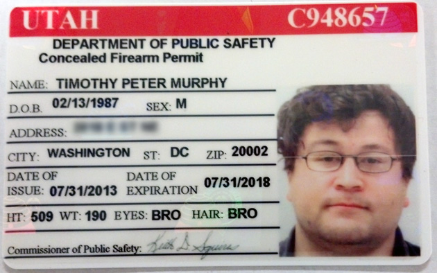 How I Got Licensed to Carry a Concealed Gun in 32 States by Barely