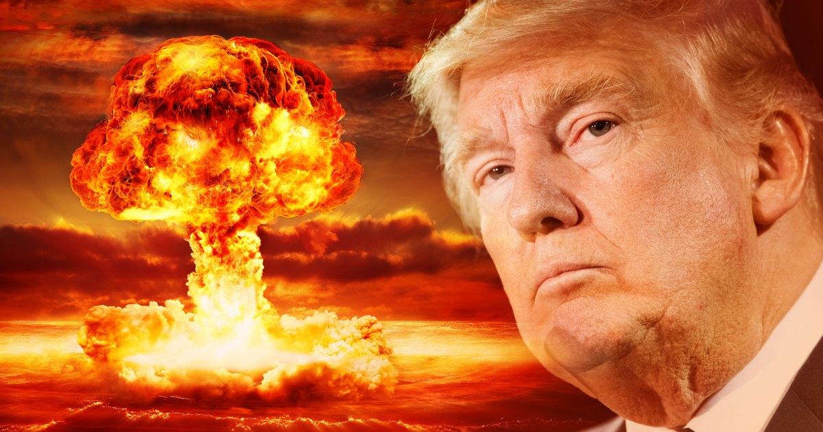 does donald trump believe nuclear war is inevitable mother jones. Black Bedroom Furniture Sets. Home Design Ideas