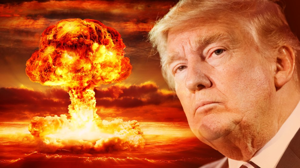 Does Donald Trump Believe Nuclear War Is Inevitable? – Mother Jones