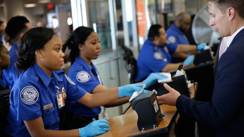 Here S Why The Airport Security Line Is A Nightmare Mother Jones