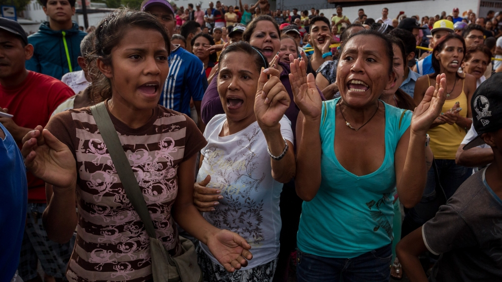 Venezuela Is Descending Into Chaos. Now This Issue Is on ...