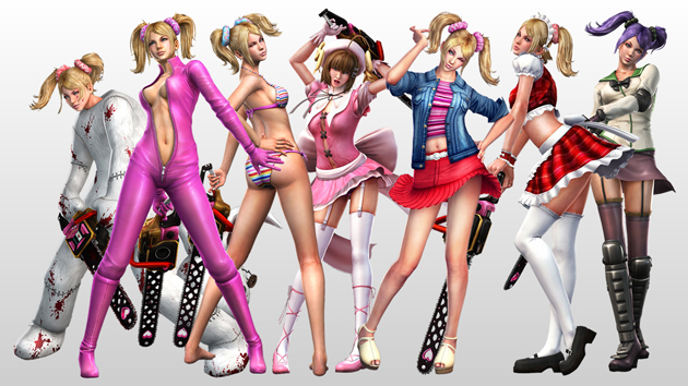 Hyper sexualized video game characters